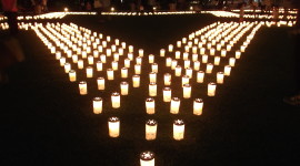 Night Candles Wallpaper Gallery