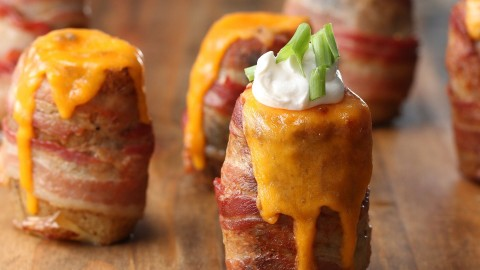 Potatoes Wrapped In Bacon wallpapers high quality
