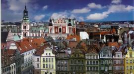 Poznan Wallpaper Background