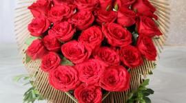 Roses In Basket Wallpaper For Mobile