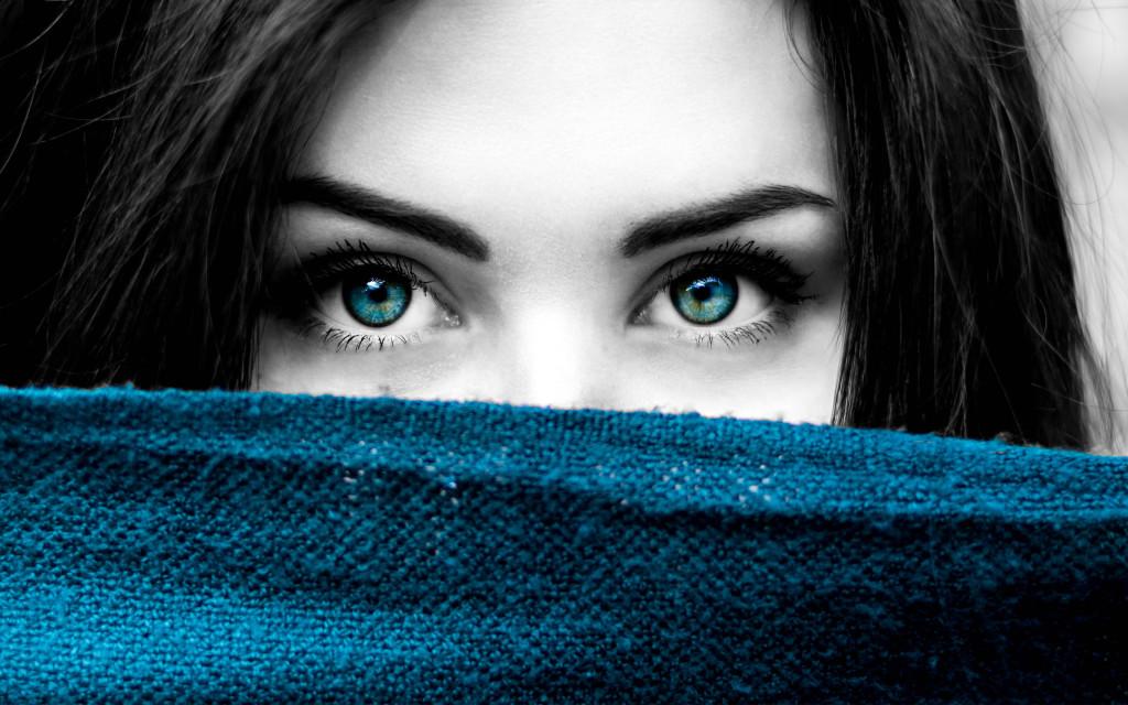 4K Big Blue Eyes wallpapers HD