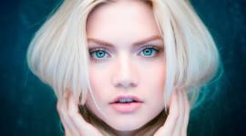 4K Big Blue Eyes Wallpaper 1080p