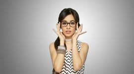4K Girl Glasses Wallpaper 1080p