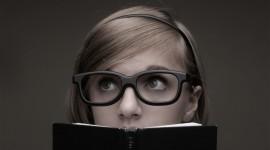4K Girl Glasses Wallpaper For Desktop