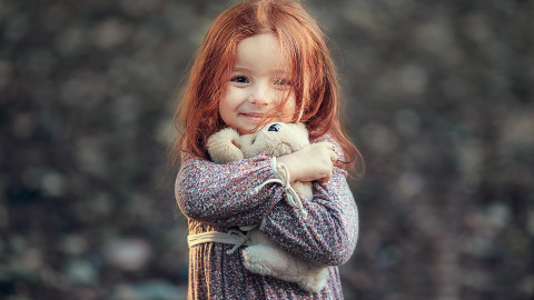 4K Red-Haired Baby wallpapers high quality