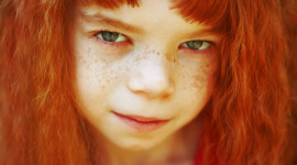 4K Red-Haired Baby Wallpaper For PC