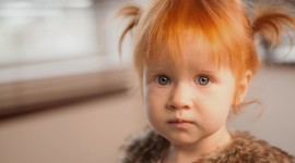 4K Red-Haired Baby Wallpaper Gallery