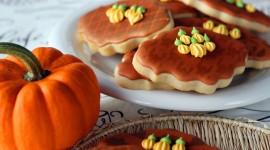 Autumn Cookies Desktop Wallpaper