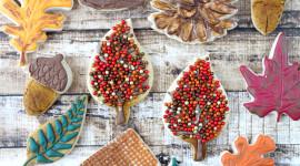 Autumn Cookies Wallpaper