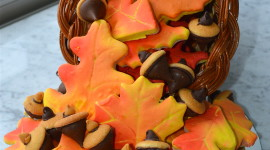 Autumn Cookies Wallpaper For Android