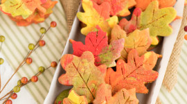 Autumn Cookies Wallpaper For IPhone