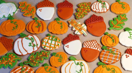 Autumn Cookies Wallpaper HQ