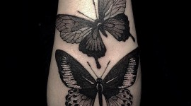Black Work Tattoo Wallpaper Free