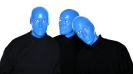 Blue Man Group Aircraft Picture