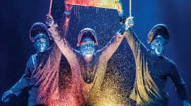Blue Man Group Wallpaper For Android