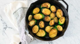 Braised Zucchini Wallpaper For PC