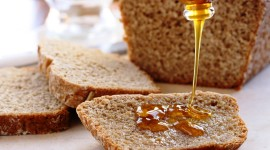 Bread With Honey Wallpaper Download Free