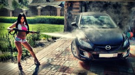 Car Wash Girl Picture Download