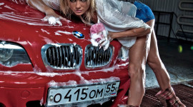 Car Wash Girl Wallpaper For Android#1