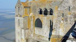 Castle Mont Saint Michel France For IPhone