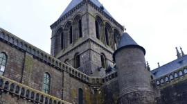 Castle Mont Saint Michel France For Mobile