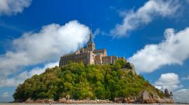 Castle Mont Saint Michel France Full HD