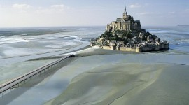 Castle Mont Saint Michel France Full HD#1