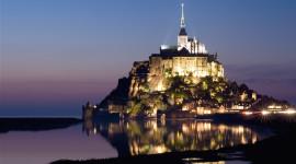 Castle Mont Saint Michel France Full HD#2