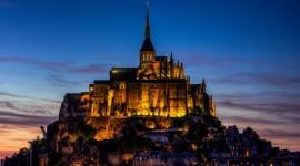Castle Mont Saint Michel France Image
