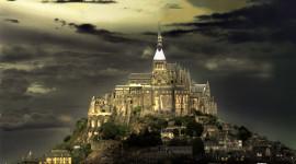 Castle Mont Saint Michel France Photo