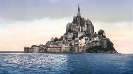 Castle Mont Saint Michel France Photo Free