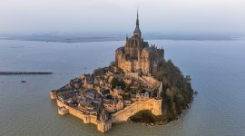 Castle Mont Saint Michel France Pics
