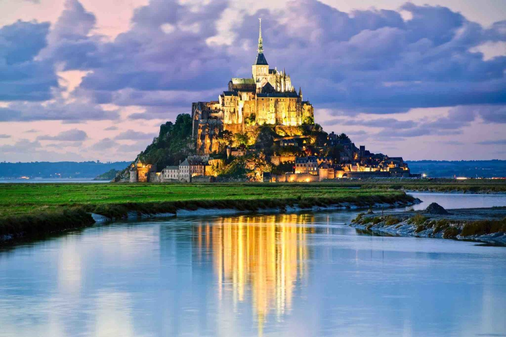 Castle Mont Saint Michel France wallpapers HD