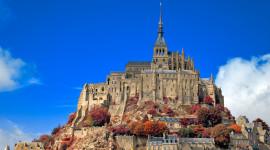 Castle Mont Saint Michel France Wallpaper HQ