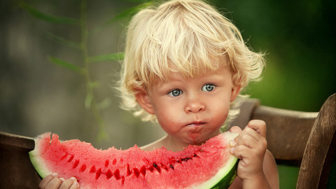 Children Watermelon wallpapers high quality