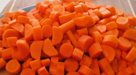 Chopped Carrots Wallpaper Download