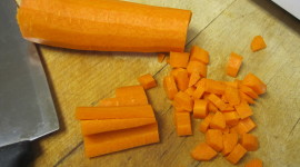 Chopped Carrots Wallpaper Download Free