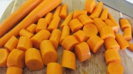 Chopped Carrots Wallpaper For Desktop