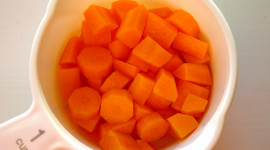 Chopped Carrots Wallpaper HQ