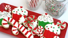 Christmas Cookies Wallpaper For PC