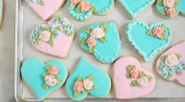 Cookie Heart Wallpaper