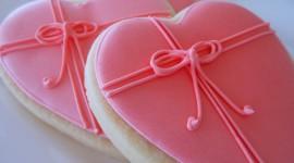 Cookie Heart Wallpaper For Desktop