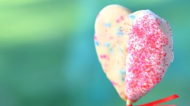 Cookie Heart Wallpaper Full HD