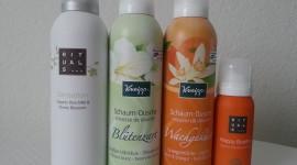 Cream Shower Gel High Quality Wallpaper