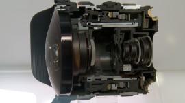 Cutaway Lens Wallpaper For Desktop