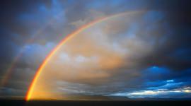 Double Rainbow Photo Download
