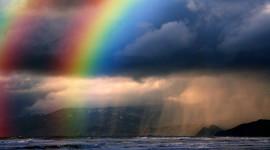 Double Rainbow Photo Free