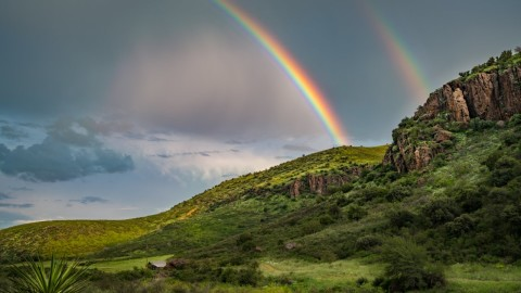 Double Rainbow wallpapers high quality