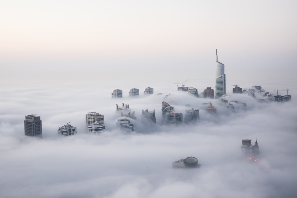 Fog In The City wallpapers HD