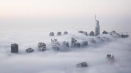 Fog In The City Wallpaper 1080p